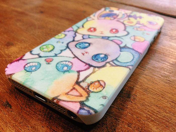 パステルカラーな動物たちのiPhoneケース