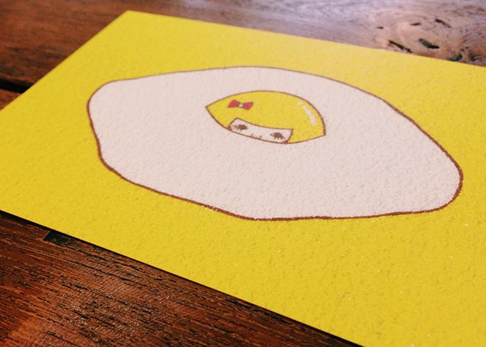 砂絵ポストカード